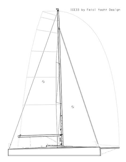 Ice Yachts 33 layout